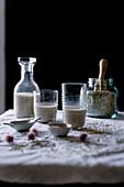 Homemade Oatmeal milk