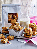Apricot Muesli Cookies