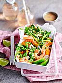 Vietnamesicher Garnelen-Gemüse-Salat