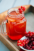 Red currant beverage