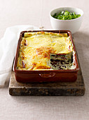 Vegetarian Three-Cheese Lasagne