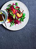 Orangen-Rote-Bete-Salat mit Sumach-Dressing