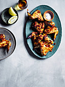 Georgian chicken wings with adjika