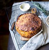 Sweet potato and chorizo bread