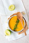 Vegan Fennel Soup with Cashew Nuts