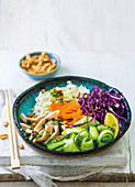 Angelfish poke bowl