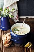 Bourride - Provencal fish stew