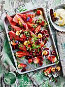 Red Fruit Salad