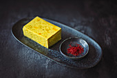 Saffron tofu