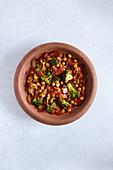 Vegetarische Tajine mit Kichererbsen und Brokkoli
