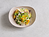 Pumpkin and parsnip salad