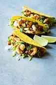 Crispy Mexican prawn tacos