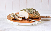 Turkey breast in a spice coating (slow cooking)