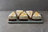 Banana and orange oil-sponge cake