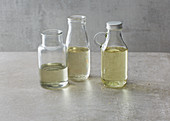 Refined oils for baking