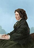 Harriet Beecher Stowe, US abolitionist