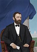 Ulysses S Grant, US president
