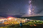 Milky Way over Yaqing Monastery