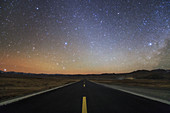 Road to the stars in Tibet