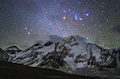 Orion over Nuptse and Mount Everest