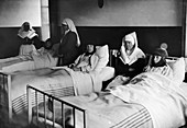 Red Cross tuberculosis hospital, France