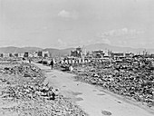 Atomic bomb destruction, Nagasaki, 1948