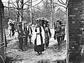 Funeral of Baron von Richthofen, 1918