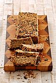 Granola bars, sliced (vegan)