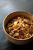 Nutty Granola in a bowl