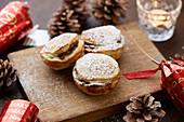 Handmade mince pies