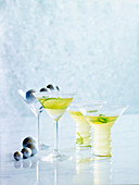 Margaritas mit Limettenscheiben