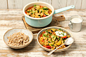 Lentil and veggies gulash