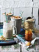 Horchata porridge shake