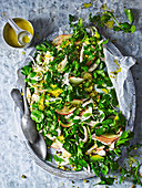 Fennel, Apple and Pistachio Chicken Salad