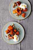 Sweet pumpkin with Greek yoghurt