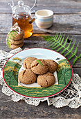 Two Bites Spice Cookies with einkorn flour