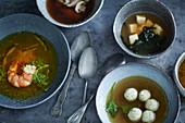 Elegant soups
