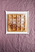 A Dresden Christmas waffle