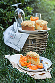 Piece of Apricot Pie for a Picnic