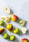 Verschiedene Birnen