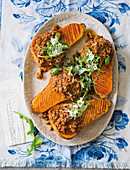 Butternut with mince