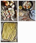 Klares Apfelsüppchen mit Polentaschnitten zubereiten