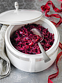 Red Cabbage with apple for Christmas