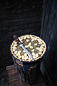 Vegan Hokkaido pumpkin and poppy cake