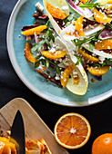Chicory salad with blood orange