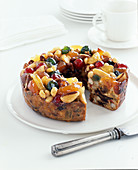Wreath fruit cake (gluten free)