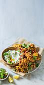 Crunchy bhajis