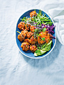 Vietnamese fishcakes with chilli treacle