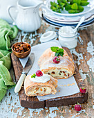 Cottage cheese strudel