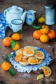 Mandarinen-Plätzchen